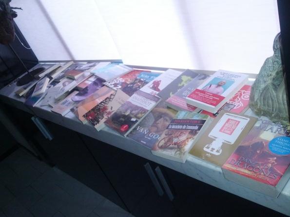 Libros adquiridos en la FIL 2012