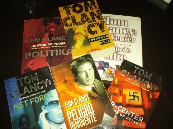 Libros de Tom Clancy