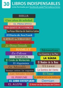 30 Libros indispensables.