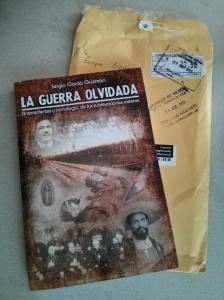 Así recibí el más reciente libro.