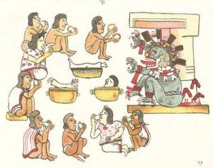 Canibalismo Azteca