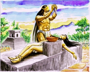 Sacrificios Mexicas