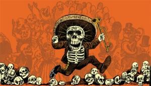 Fiesta día de muertos