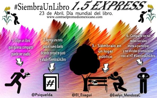 #SiembraUnLibro 1.5 EXPRESS