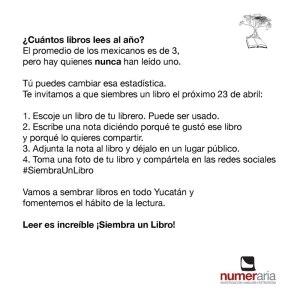 Documento circular en Yucatán