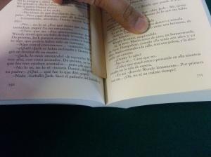 El resplandor - Faltan páginas