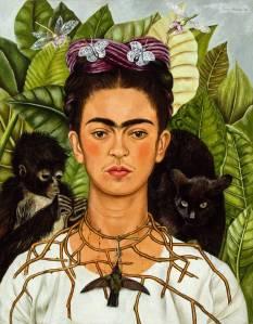 Sí, miren cuanto le importa a Frida que no la conozcan.