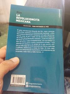 La revolucioncita mexicana-Contraportada