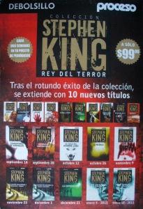 Coleccion Stephen King Proceso