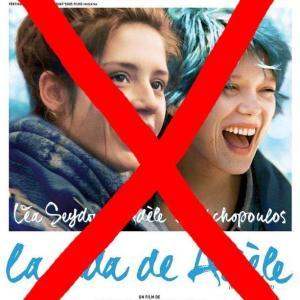 Contra La vida de Adèle