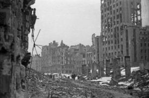 Varsovia destruida